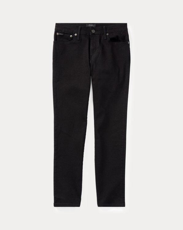 폴로 랄프로렌 보이즈 블랙진 Polo Ralph Lauren Hampton Straight Stretch Jean,Black