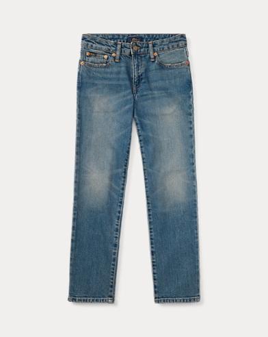 폴로 랄프로렌 Polo Ralph Lauren Hampton Straight Stretch Jean,Blue