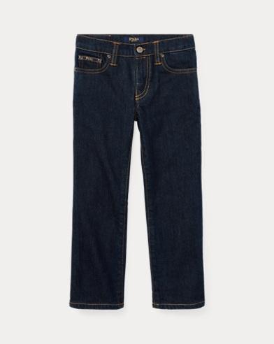 폴로 랄프로렌 남아용 스트레이트진 Polo Ralph Lauren Hampton Straight Stretch Jean,Blue