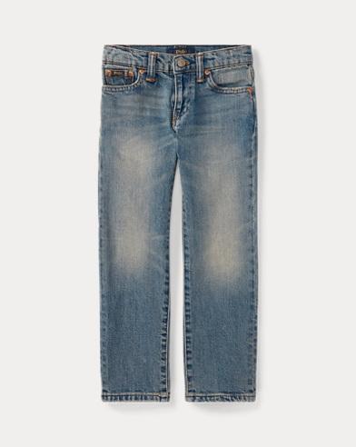 폴로 랄프로렌 남아용 청바지 Polo Ralph Lauren Hampton Straight Stretch Jean,Blue