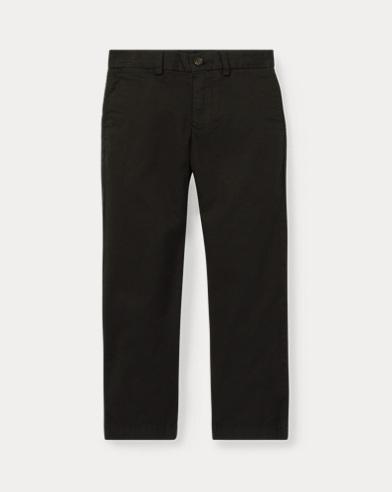 폴로 랄프로렌 남아용 치노 팬츠 블랙 (슬림핏) Polo Ralph Lauren Slim Fit Cotton Chino Pant,Polo Black
