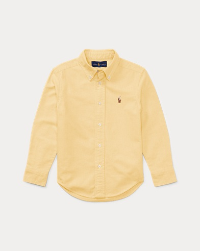 폴로 랄프로렌 Polo Ralph Lauren Cotton Oxford Shirt,Yellow