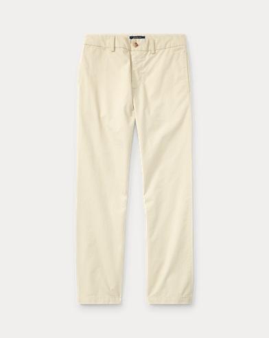 폴로 랄프로렌 보이즈 치노 팬츠 Polo Ralph Lauren Slim Fit Cotton Chino,Basic Sand