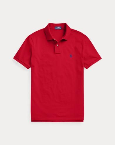 폴로 랄프로렌 Polo Ralph Lauren Custom Slim Fit Mesh Polo,Rl2000 Red