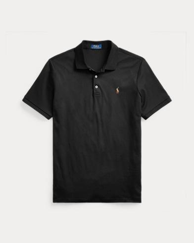 폴로 랄프로렌 Polo Ralph Lauren Classic Fit Interlock Polo,Polo Black