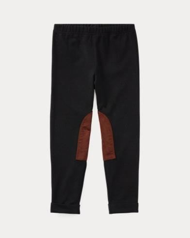 폴로 랄프로렌 여아용 레깅스 블랙 Polo Ralph Lauren Jodhpur Legging,Polo Black