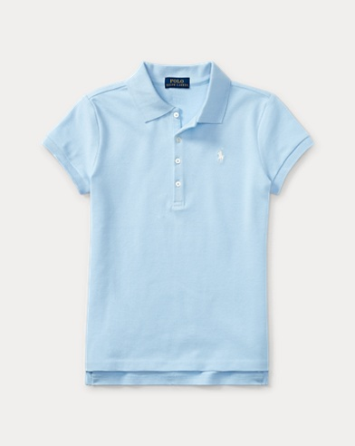 폴로 랄프로렌 걸즈 반팔 카라티 Polo Ralph Lauren Short Sleeve Polo,Turquoise