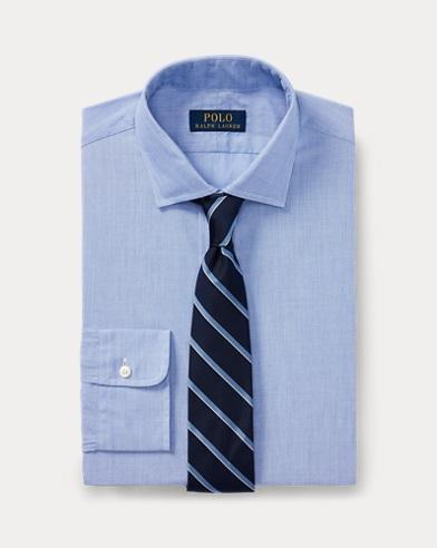 폴로 랄프로렌 Polo Ralph Lauren Classic Fit End-On-End Shirt,1097a Light Blue/White