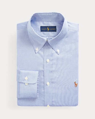 폴로 랄프로렌 슬림핏 셔츠 Polo Ralph Lauren Slim Fit Oxford Shirt,True Blue/White