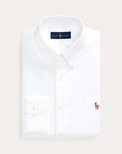 폴로 랄프로렌 슬림핏 셔츠 Polo Ralph Lauren Slim Fit Oxford Shirt,White