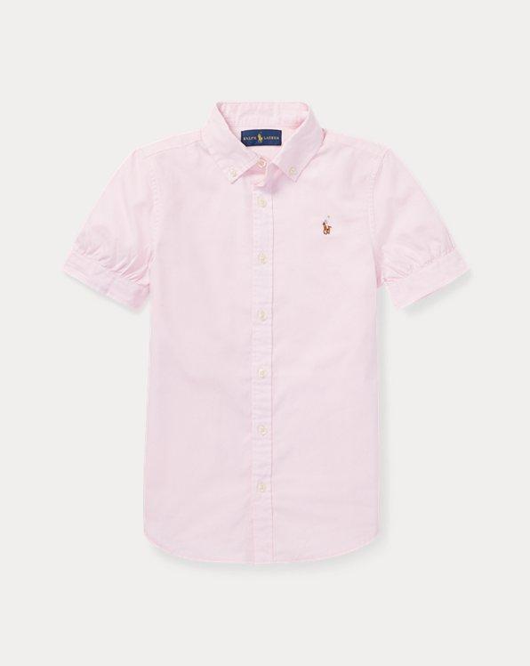 폴로 랄프로렌 걸즈 옥스포드 셔츠 Polo Ralph Lauren Oxford Shirt,Pink