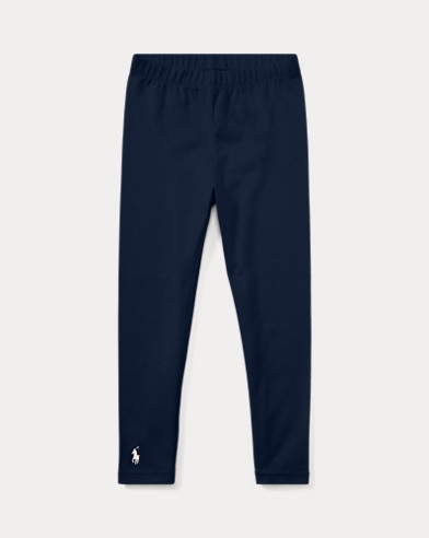 폴로 랄프로렌 Polo Ralph Lauren Stretch Cotton Legging,French Navy