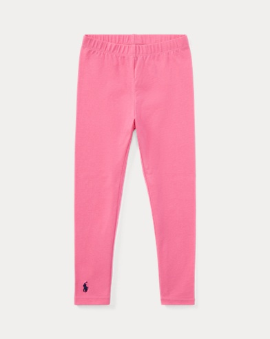 폴로 랄프로렌 Polo Ralph Lauren Stretch Cotton Legging,Baja Pink