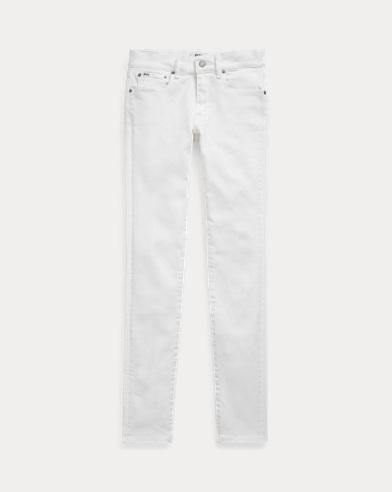 폴로 랄프로렌 Polo Ralph Lauren Tompkins Skinny Jean,White