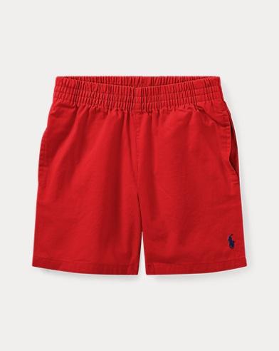 폴로 랄프로렌 남아용 반바지 레드 Polo Ralph Lauren Cotton Chino Pull-On Short