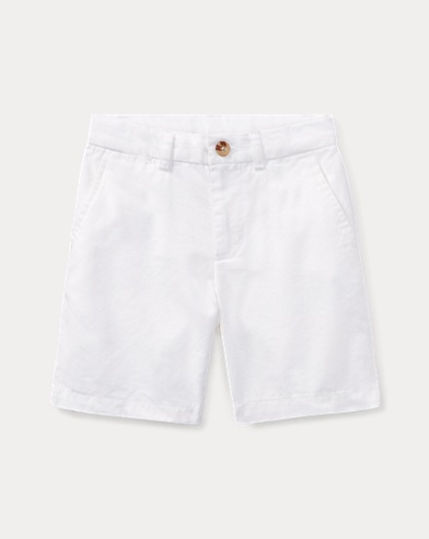 폴로 랄프로렌 남아용 반바지 Polo Ralph Lauren Straight Fit Chino Short,White