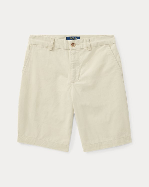 폴로 랄프로렌 보이즈 반바지 Polo Ralph Lauren Straight Fit Chino Short,Basic Sand