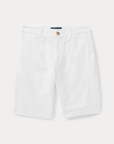 폴로 랄프로렌 Polo Ralph Lauren Straight Fit Chino Short,White