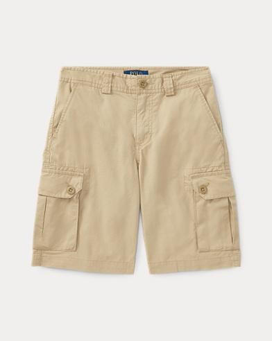 폴로 랄프로렌 Polo Ralph Lauren Cotton Chino Cargo Short,Classic Khaki