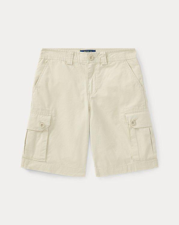 폴로 랄프로렌 보이즈 치노 팬츠 Polo Ralph Lauren Cotton Chino Cargo Short,Basic Sand