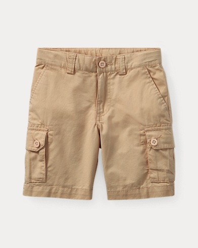 폴로 랄프로렌 남아용 반바지 카키 Polo Ralph Lauren Cotton Chino Cargo Short,Classic Khaki 418867