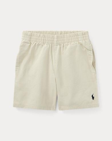 폴로 랄프로렌 Polo Ralph Lauren Cotton Chino Pull-On Short,Basic Sand