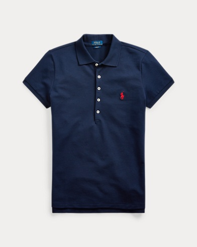 폴로 랄프로렌 Polo Ralph Lauren Slim Fit Stretch Polo Shirt,Newport Navy