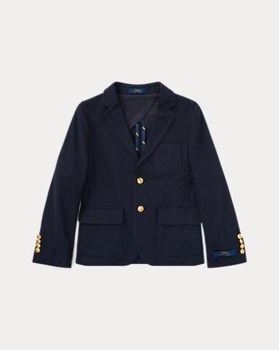 폴로 랄프로렌 보이즈 모건 니트 블레이저 Polo Ralph Lauren Morgan Knit Blazer,Navy