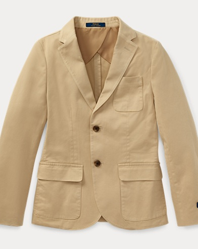 폴로 랄프로렌 Polo Ralph Lauren Stretch Cotton Sport Coat,Coastal Beige