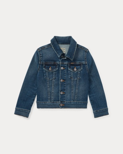 폴로 랄프로렌 여아용 데님 자켓 Polo Ralph Lauren Denim Trucker Jacket,Marcella Wash