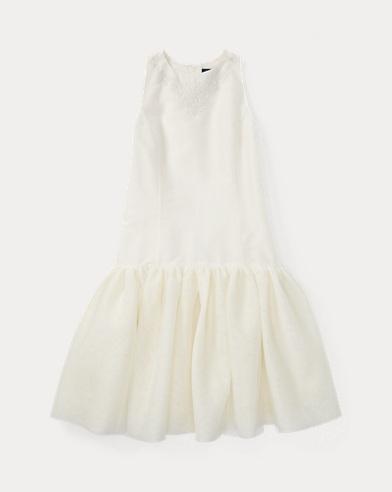 폴로 랄프로렌 걸즈 원피스 크림 Polo Ralph Lauren Tulle Dress,Cream