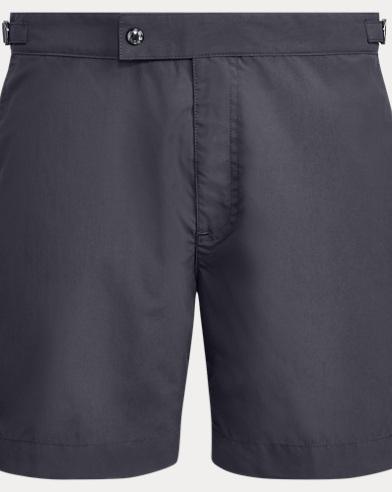 폴로 랄프로렌 수영복 Polo Ralph Lauren 6-Inch Monaco Swim Trunk,Polo Black
