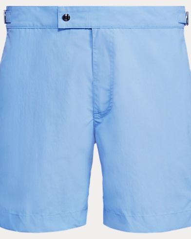 폴로 랄프로렌 수영복 Polo Ralph Lauren 6-Inch Monaco Swim Trunk,Chatham Blue
