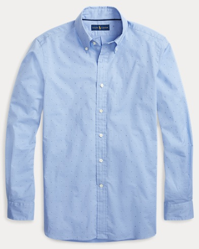 폴로 랄프로렌 Polo Ralph Lauren Classic Fit Patterned Shirt,2696 Shadow Diamond
