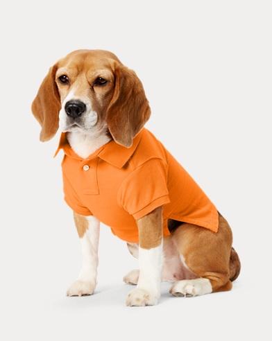 폴로 랄프로렌 강아지 빅포니 폴로셔츠 - 오렌지 Polo Ralph Lauren Big Pony Mesh Dog Polo Shirt,Thai Orange