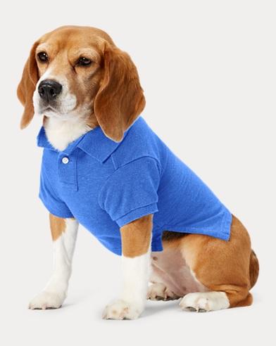 폴로 랄프로렌 강아지 빅포니 폴로셔츠 - 블루헤더Polo Ralph Lauren Big Pony Mesh Dog Polo Shirt,Dockside Blue Heather