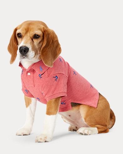 폴로 랄프로렌 강아지 청새치 자수 폴로셔츠 - 살먼헤더 Polo Ralph Lauren Marlin-Embroidered Dog Polo,Salmon Heather
