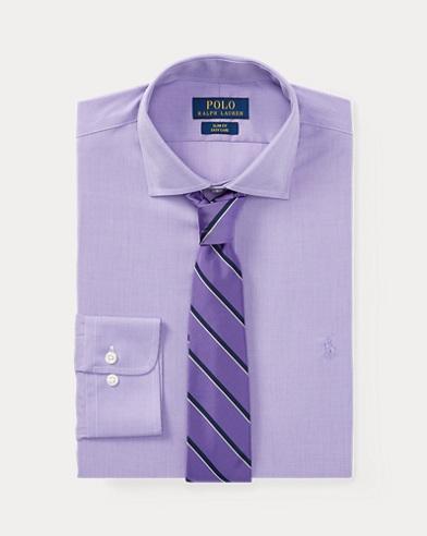 폴로 랄프로렌 Polo Ralph Lauren Classic Fit Poplin Shirt,Lavender/White