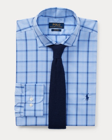 폴로 랄프로렌 클래식핏 셔츠 Polo Ralph Lauren Classic Fit Easy Care Shirt,Cornflower/Navy Multi