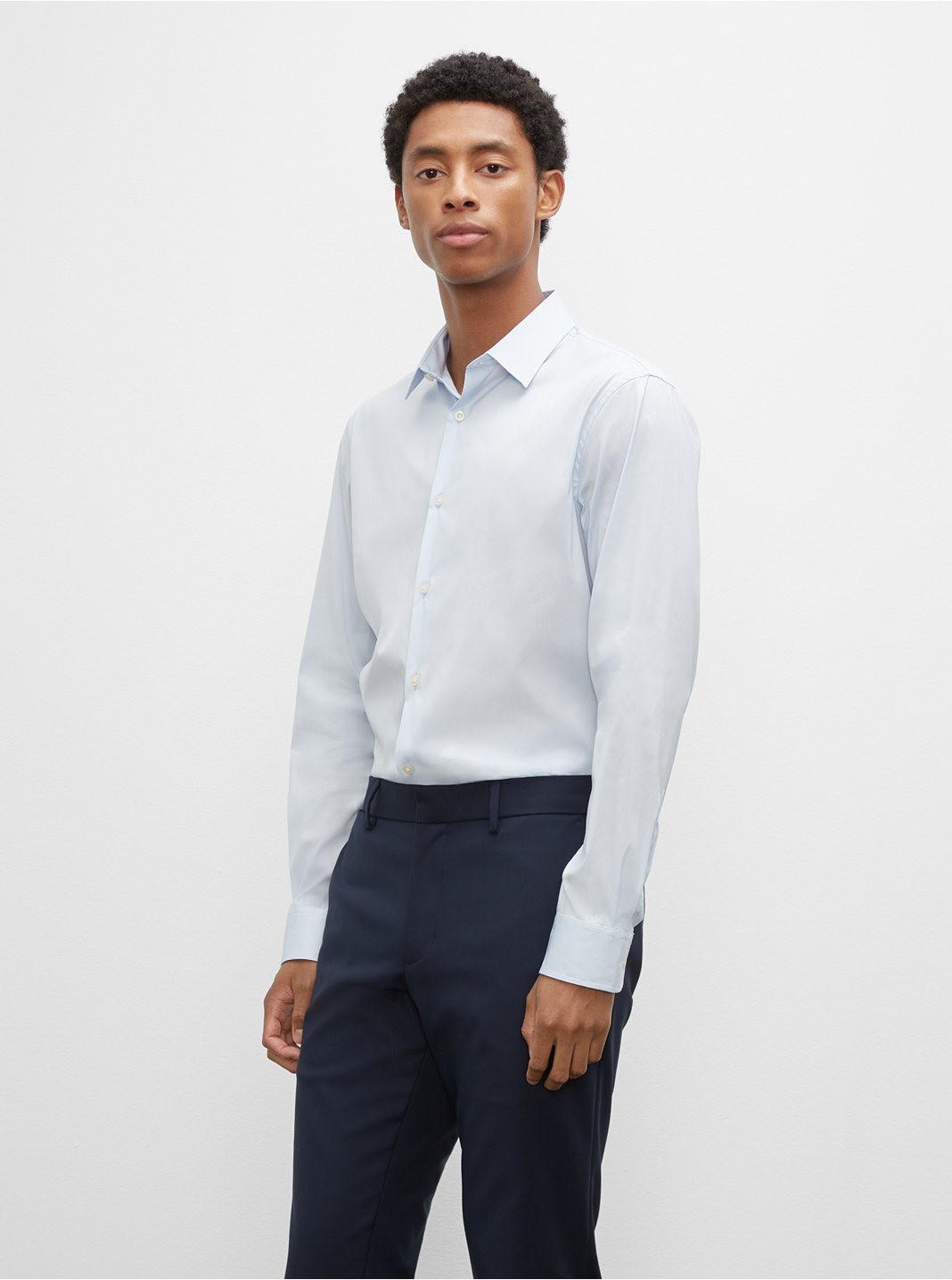 클럽 모나코 맨 셔츠 Club Monaco Stretch Poplin Dress Shirt