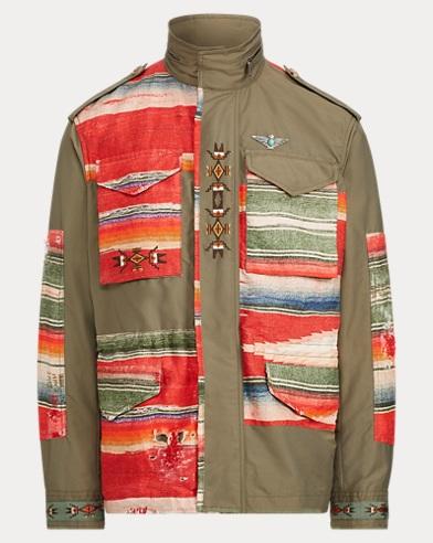 폴로 랄프로렌 Polo Ralph Lauren Serape Field Jacket,Vintage Olive/Serape Mult