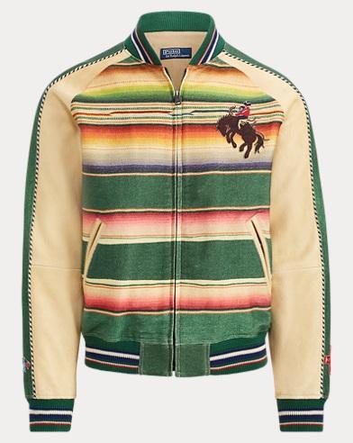 폴로 랄프로렌 세라피 수베니어 자켓 Polo Ralph Lauren Serape Souvenir Jacket,Green Multi/Camel