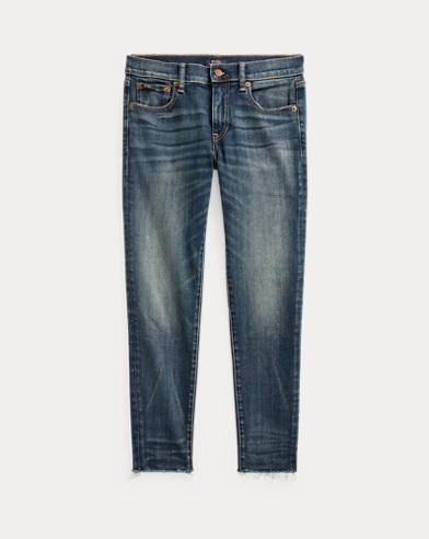폴로 랄프로렌 우먼 탐스킨 스키니 크롭진 - 다크 인디고 Polo Ralph Lauren Tompkins Skinny Crop Jean