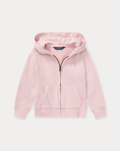 폴로 랄프로렌 걸즈 후드티 핑크 Polo Ralph Lauren French Terry Hoodie,Hint Of Pink