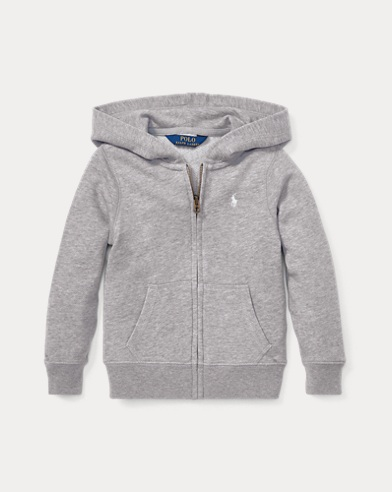 폴로 랄프로렌 걸즈 후드티 그레이 Polo Ralph Lauren French Terry Hoodie,Light Grey Heather