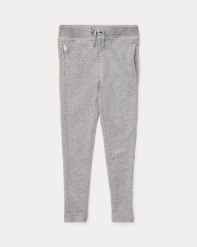 폴로 랄프로렌 Polo Ralph Lauren French Terry Legging,Light Grey Heather