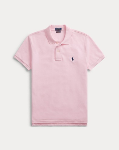 폴로 랄프로렌 Polo Ralph Lauren Classic Fit Mesh Polo Shirt,Country Club Pink