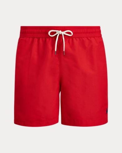 폴로 랄프로렌 수영복 Polo Ralph Lauren 5¾-Inch Traveler Swim Trunk,Rl2000 Red