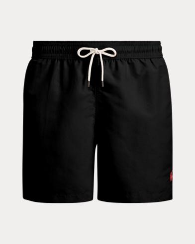 폴로 랄프로렌 수영복 Polo Ralph Lauren 5¾-Inch Traveler Swim Trunk,Polo Black