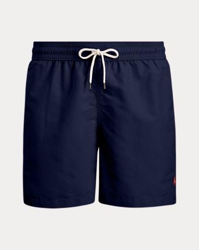 폴로 랄프로렌 수영복 Polo Ralph Lauren 5¾-Inch Traveler Swim Trunk,Newport Navy